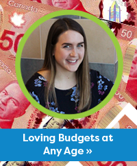 Loving Budgets at Any Age article by Emma Kelly