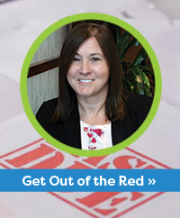 Getting Out of the Red by Lisa Dewolfe
